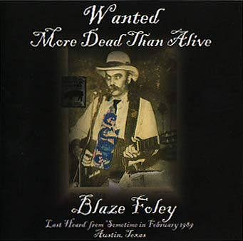Blaze Foley CD cover